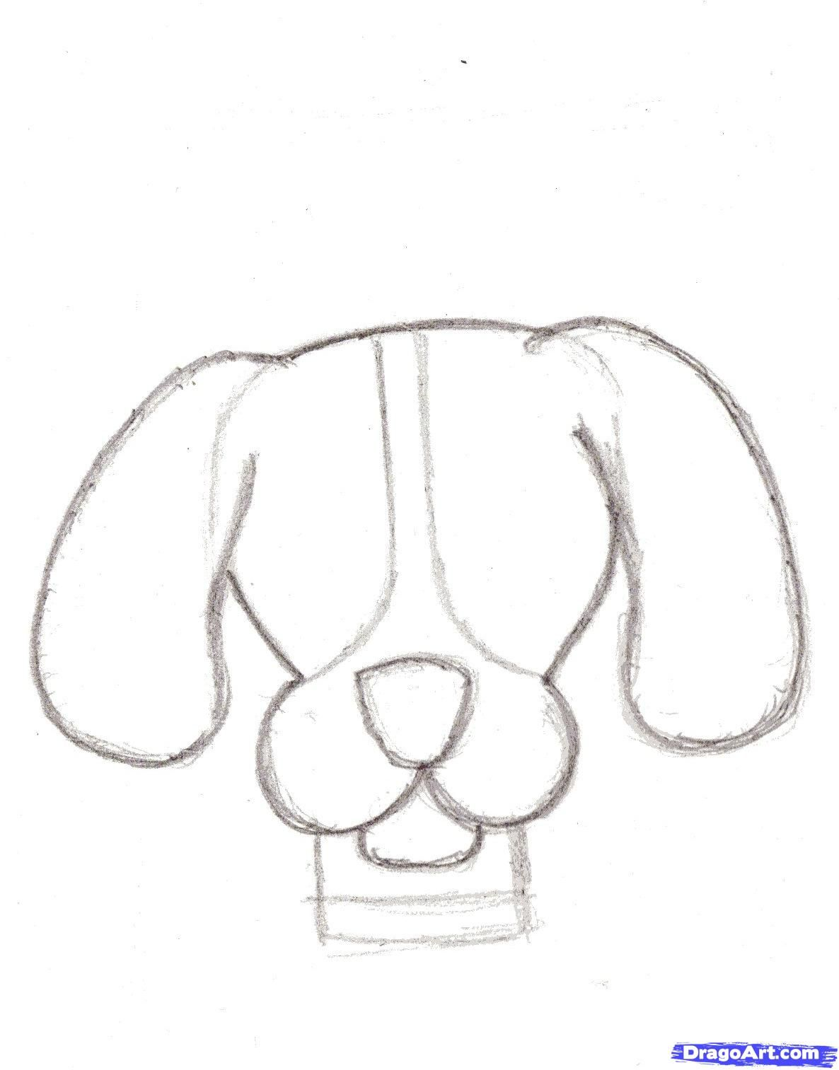 How To Draw Cartoon Dogs By Neon Dollar