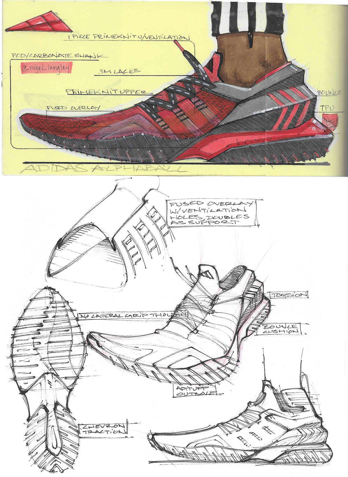 sneaker sketches