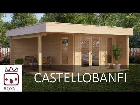 Ufficio In Legno Da Giardino : Garden loft e garden office di casette italia: casette in legno da