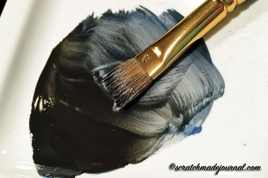 How To Mix Black Watercolor Tips Akvarell Malningar Och Akvareller