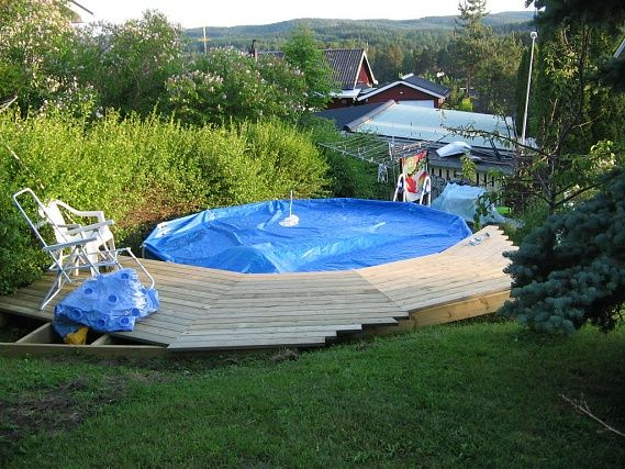 billig inbyggd pool s k p google pool pinterest. Black Bedroom Furniture Sets. Home Design Ideas