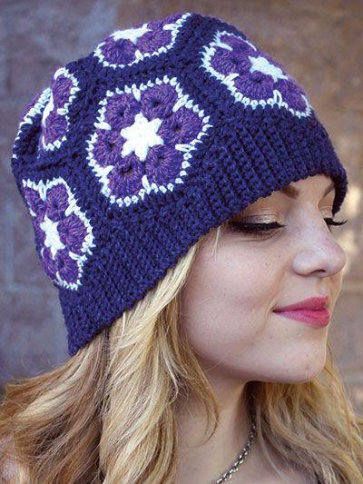 Free Pattern – African Slouch Hat   Handschuh, Farben und Handschuhe ...