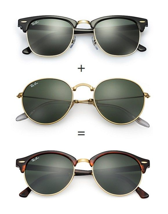 9a48276a9431 New Ray-Ban Clubround sunglasses  smartbuyglasses