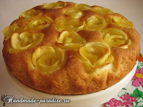 Рецепт яблучного пирога з 186
