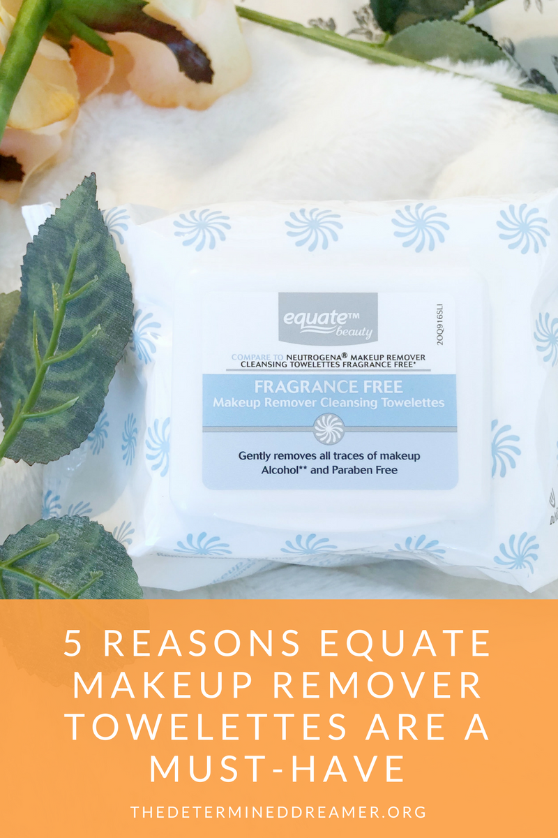 5 Reasons Equate Makeup Remover Towelettes are a MustHave