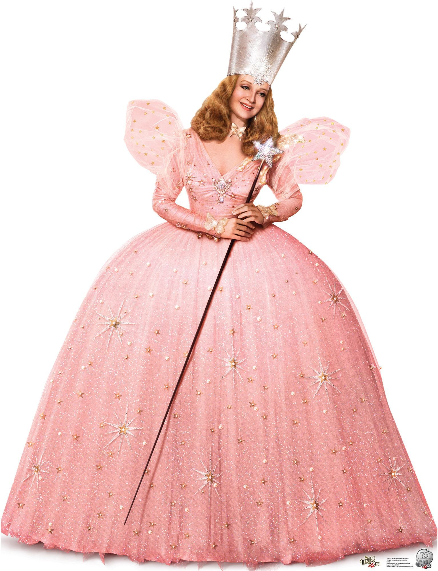 Glinda the Good Witch - 75 yr Anniversary OZ Cardboard Stand-Up ...