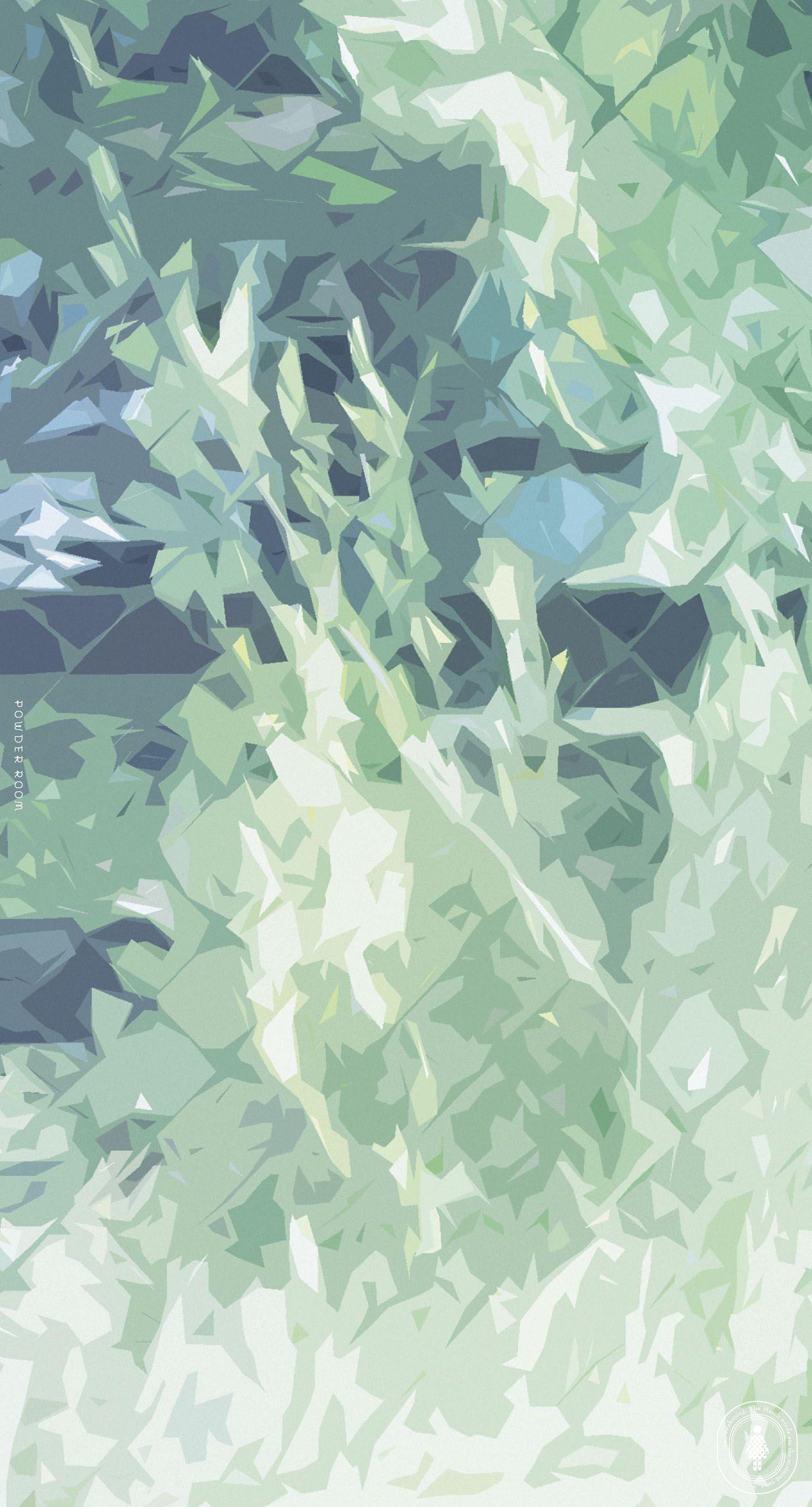 Free Wallpaper Iphone Smartphone Illustration Green スマホ 壁紙