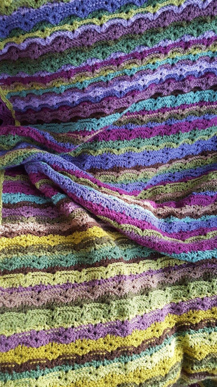 Attic24 Moorland Blanket With A Twist Needles Hooks Attic 24 Blanket