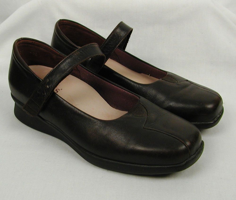 Kumfs Mary Janes Shoes Size 39.5 US 9 Brown 2 tone New Zealand