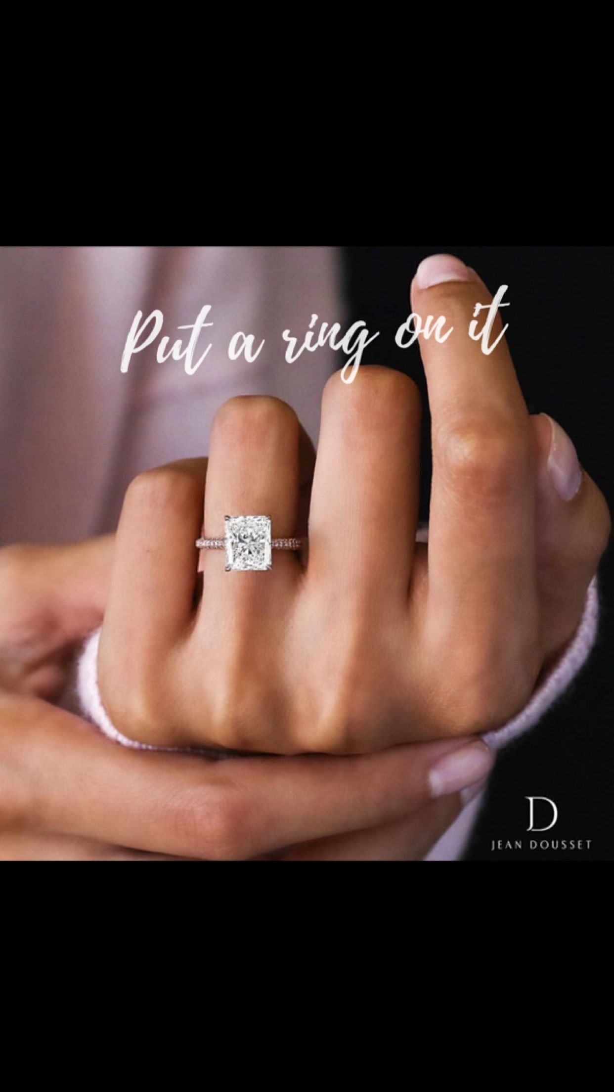 I can't wait for the day my promise ring is replaced with