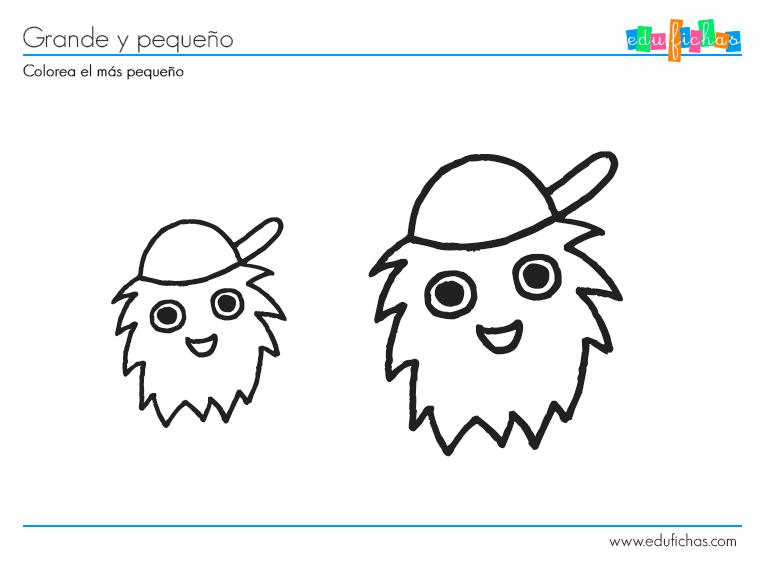 Ficha para 2 a os de grande peque o actidades ni os tres for Actividades pedagogicas para ninos de 2 a 3 anos