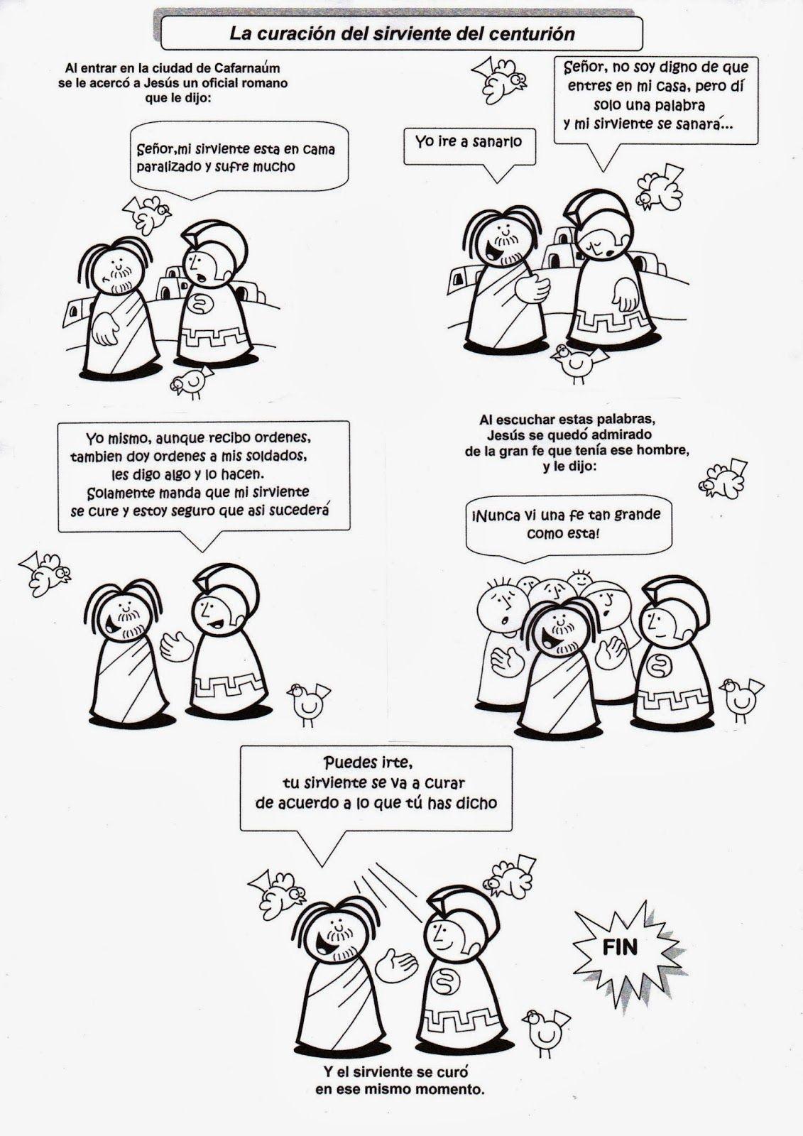 La Catequesis: Recursos Catequesis Jesús cura al sirviente del ...