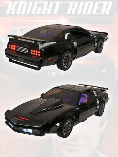 Knight Rider - Modell 1:15 Super Pursuit Mode KITT 35 cm