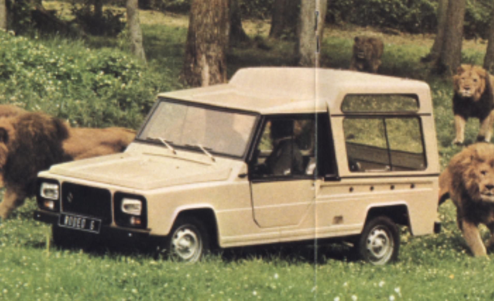 Renault 6 Rodeo