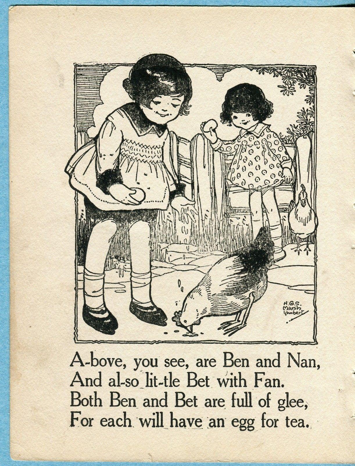 H.G.C. Marsh Lambert illustration.
