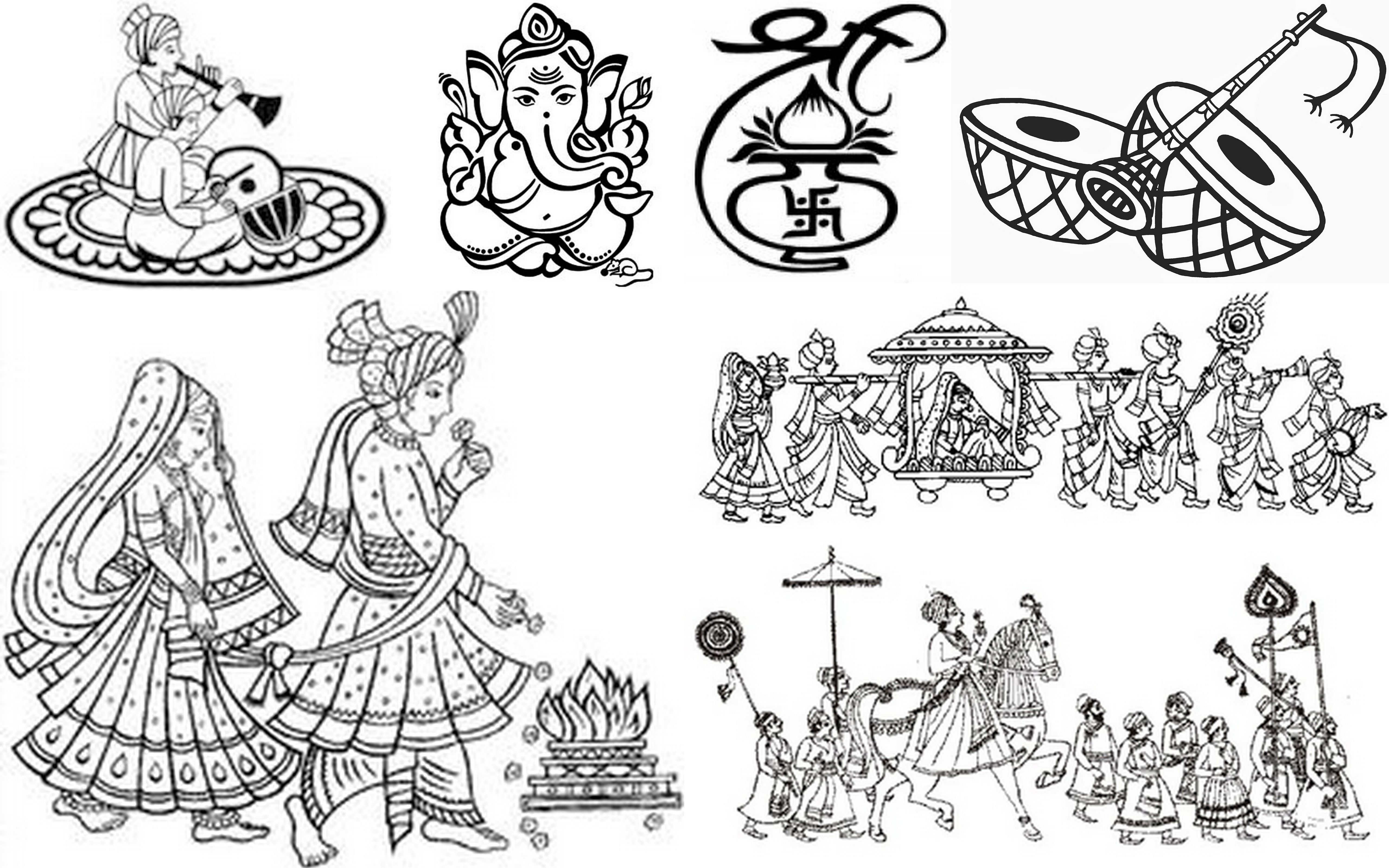 #Indianweddingcards #symbols: Wedding Cards for your ...