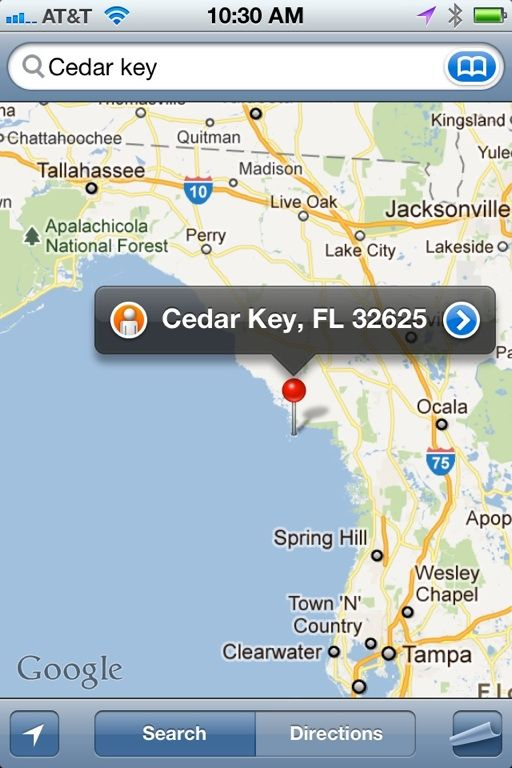 Map to Cedar Key I live in Spring Hill just south of there | Places Cedar Key Fl Map on