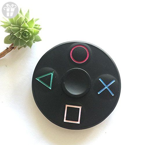 Hand Spinner Play Station PS Controller Fidget ADHD Autism Kids Finger Focus Toy
