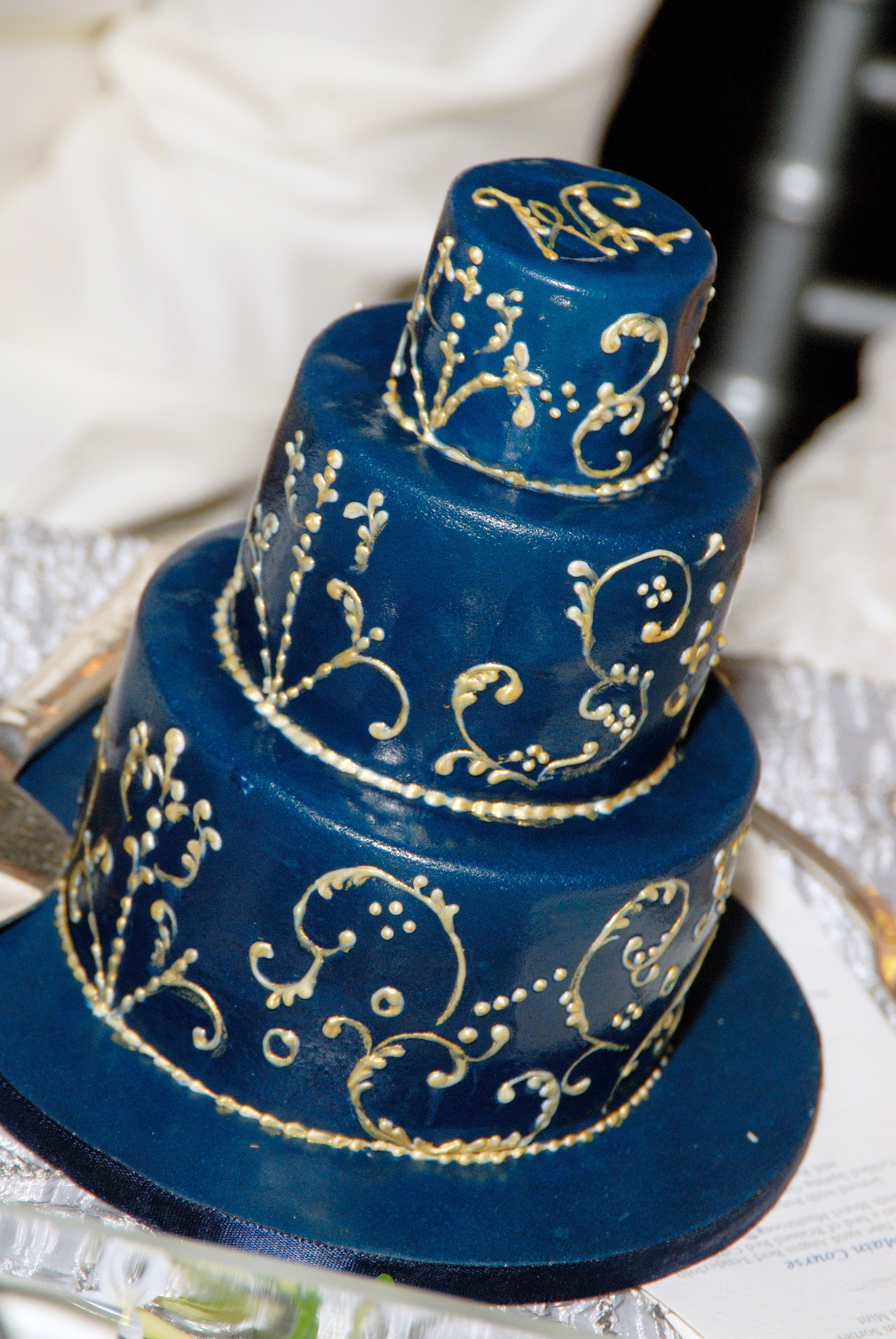 Turkish Egyptian wedding cake designed by Calla Lily