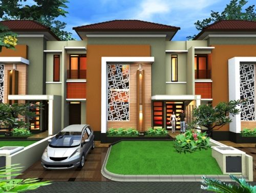 Denah Rumah Minimalis 2 Lantai Mewah Dan Modern Architecture