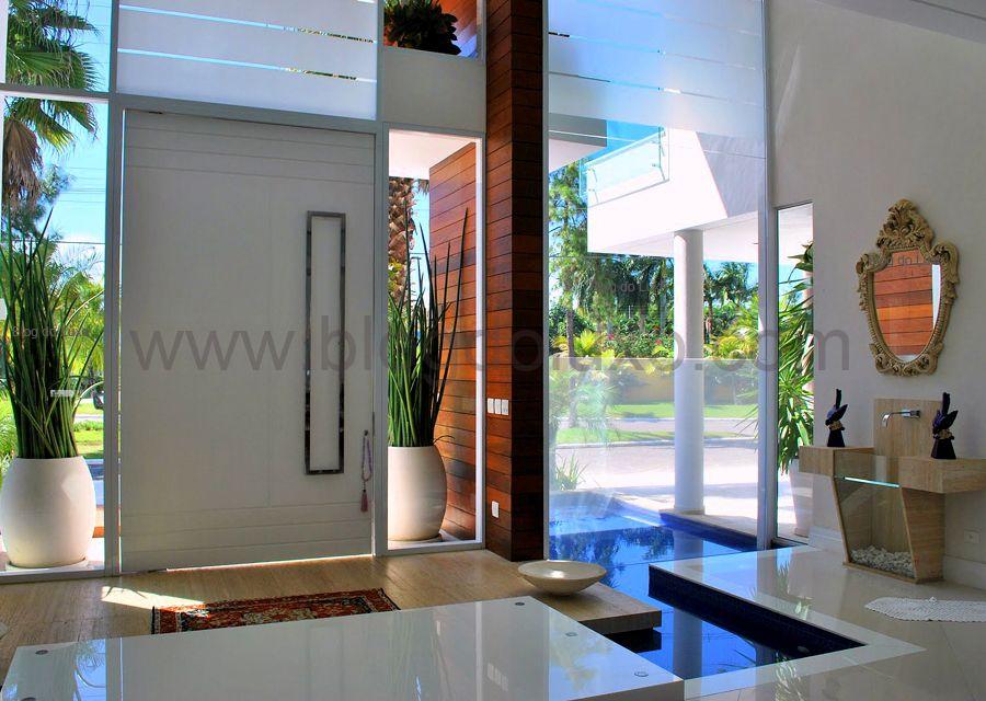 Hermoso Hall Entradas De Casas Hall De Entrada Casas Grandes Modernas