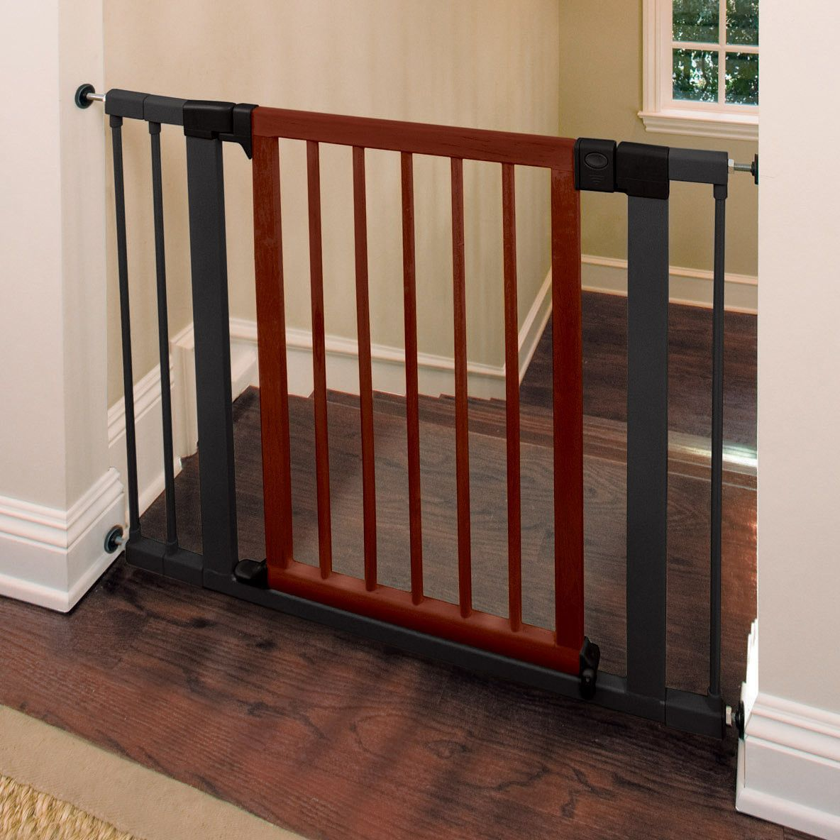 """Standard 5.5"""" Extension Pet gates for stairs, Stairs"""