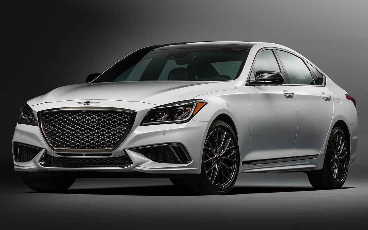 2019 Hyundai Genesis G80 Sports Trim And Twin Turbocharged V6 Engine Many Automotive Magazines