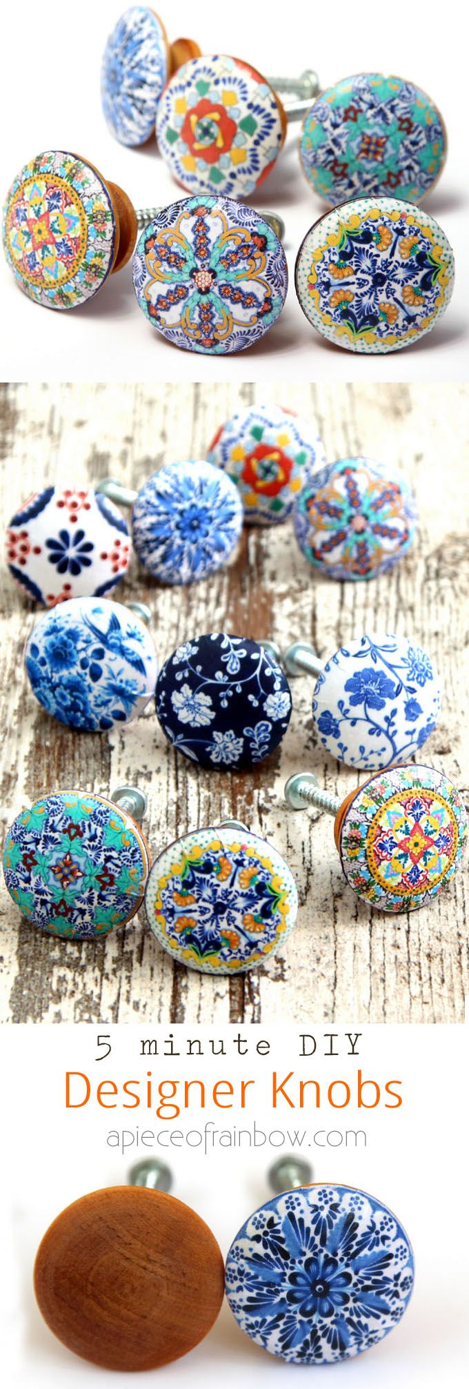 5 Minute Anthropologie Knobs Knockoff ( Beautiful Drawer ...