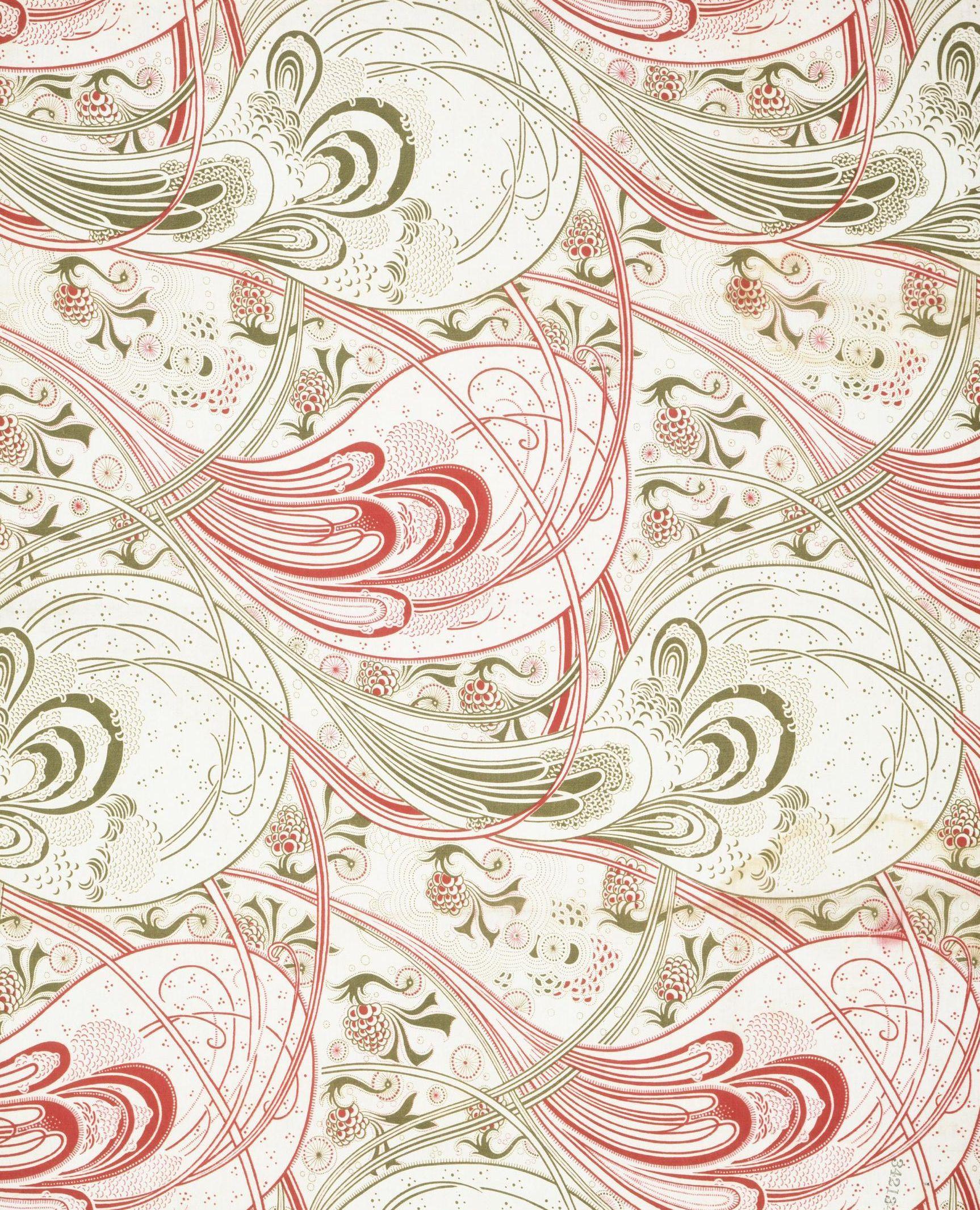 Christopher Dresser, furnishing fabric, 1899 (made)