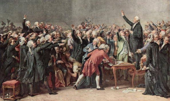 Tennis Court Oath A Pivotal Event During The First Days Of The French Revolution The Oath Was A Pledge Signe French Revolution French History Estates General