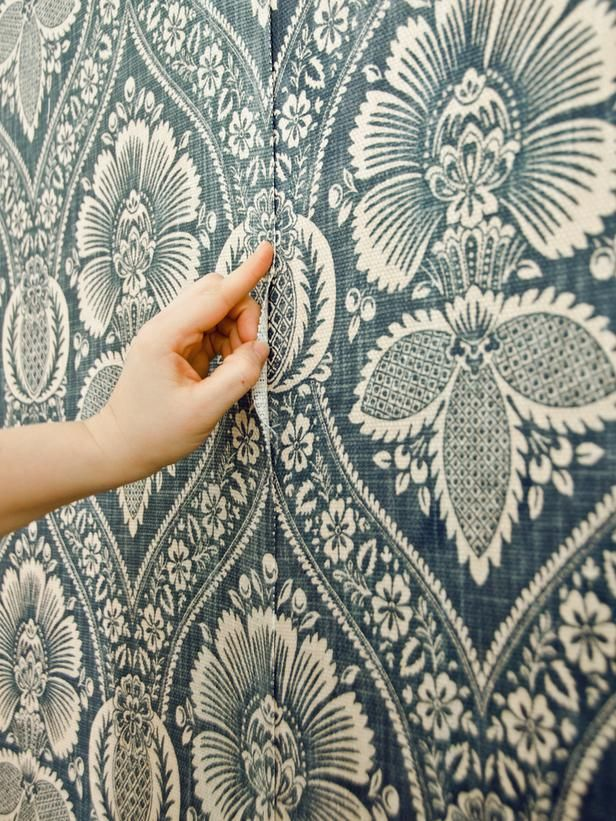 How to Install a Fabric Feature Wall Wallpaper Fabrics and Walls