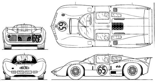 The-Blueprints.com - Blueprints > Cars > Chaparral > Chaparral 2D ...