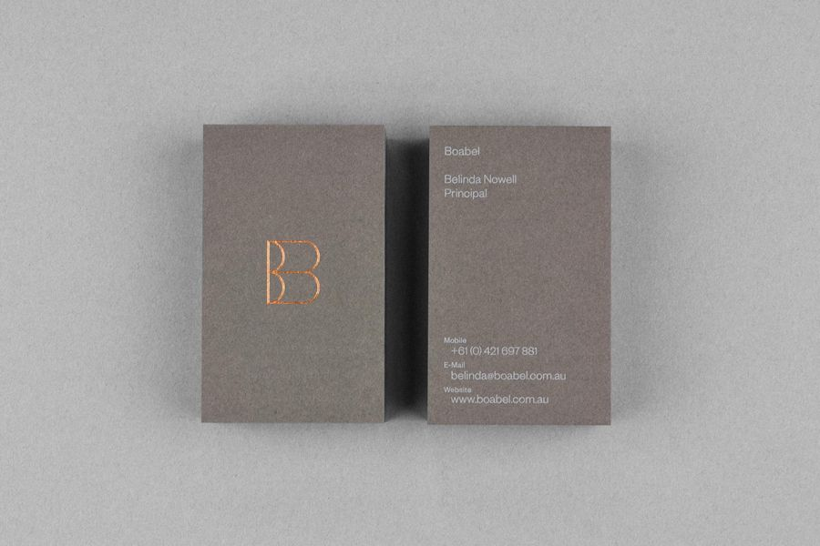 New Logo and Business Card for Boabel by Maud - BP&O ...