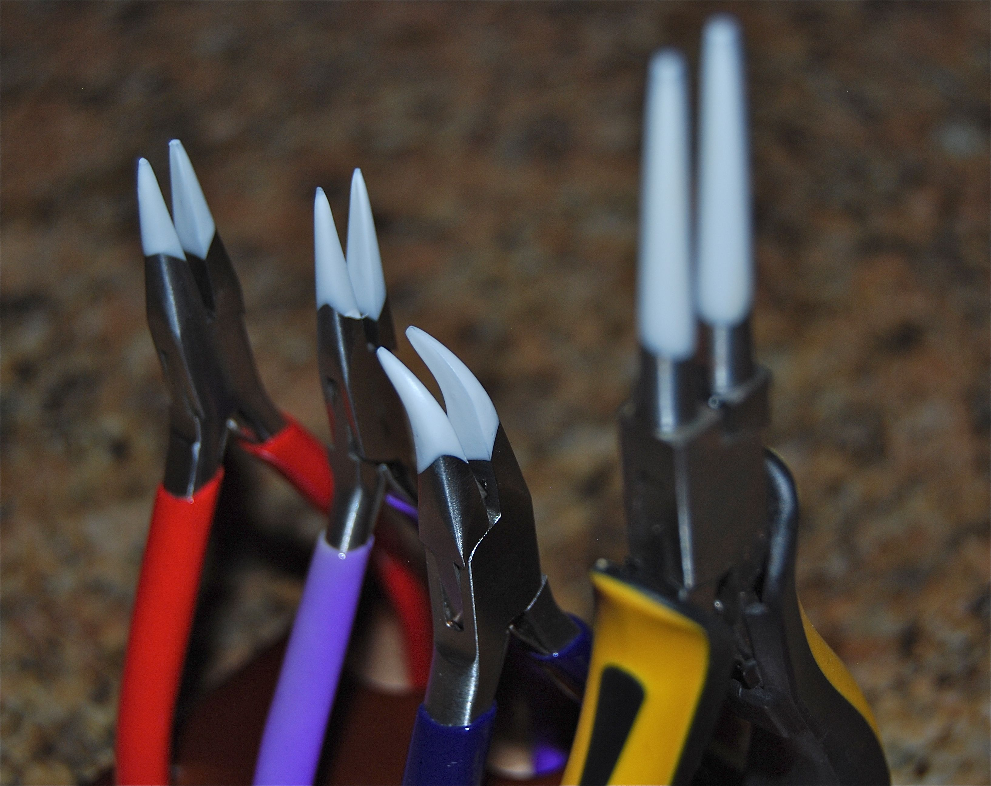 How To Protect Your Pliers From Scratching Your Jump Rings And Wire  #jewellery #crafts