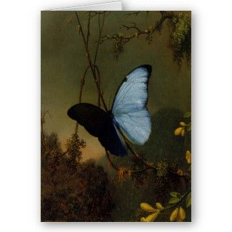 Greetingcard With Martin Johnson Heade Painting