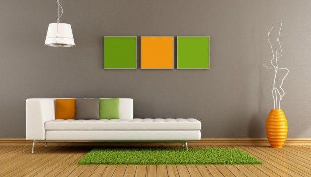Adoro questi tre colori per il soggiorno!   Home sweet Home ...