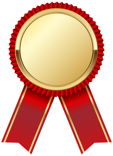 Gold Medal With Red Ribbon Png Clipart Picture Ribbon Png Badge Icon Ribbon Clipart