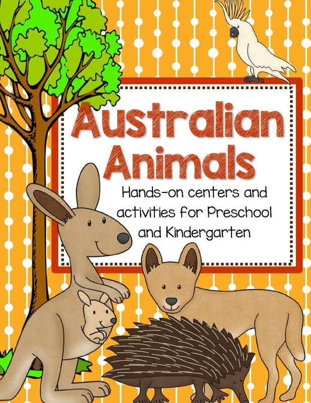 Australian Animals Printables