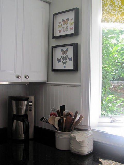 About The Butterflies Beadboard Kitchen Beadboard Backsplash