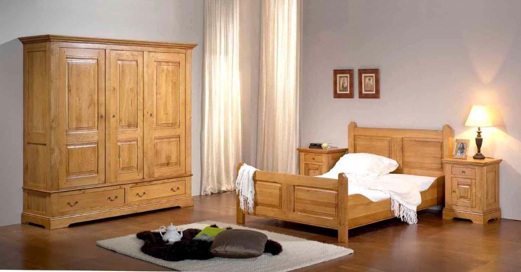 CHAMBRE A COUCHER MODERNE L\u0027univers du meuble 1m80x0,70 Pinterest
