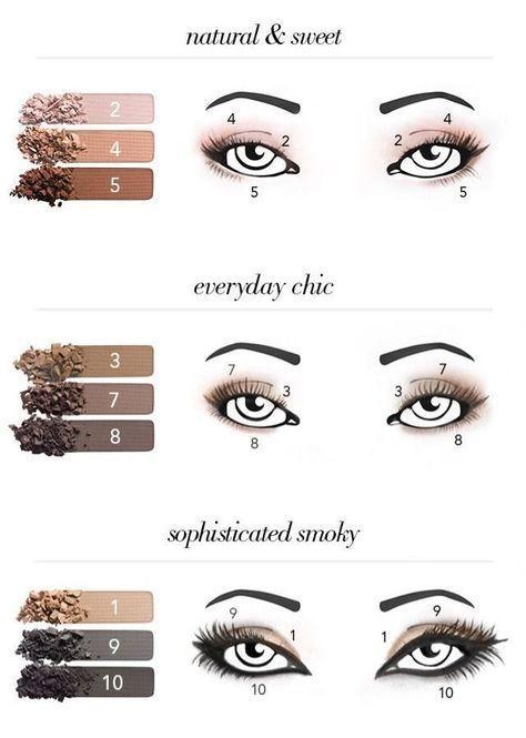 Matte Make-up Lidschatten 006 - Samantha Fashion Life #eyeshadowlooks