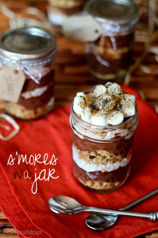 S'Mores in a Jar.