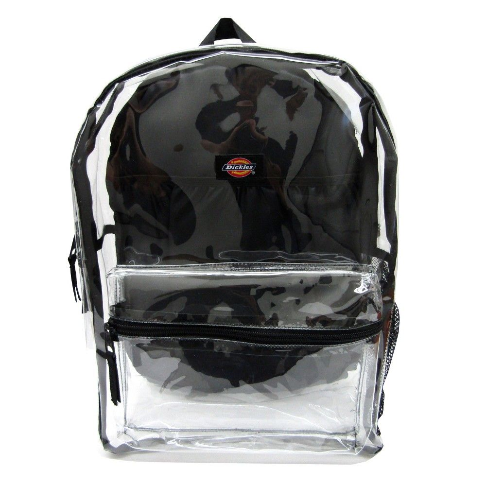 2f08ec2f17b Dickies 17 Clear Student Backpack - Clear/Black Size: Osfm. Color ...
