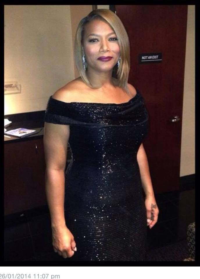 Queen Latifah Backstage At The Grammys I Love Her Long Bob You Ll