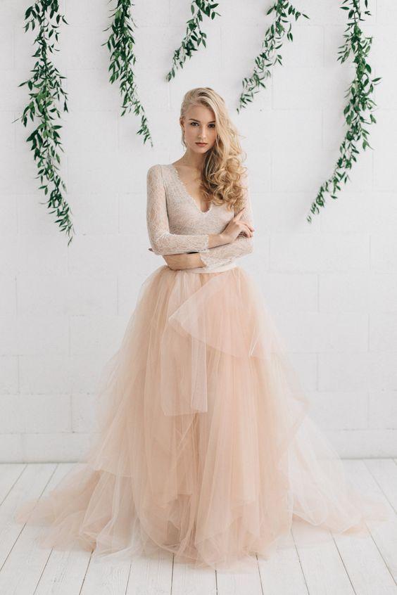 Magnífico Etsy Diseñadores Del Vestido De Boda Ideas Ornamento ...