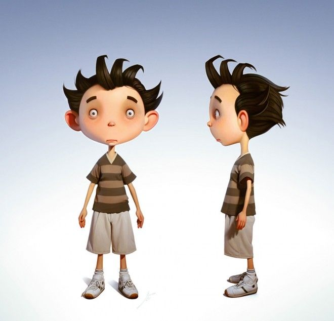 3d Character Design Behance : Beautiful and realistic d character designs examples