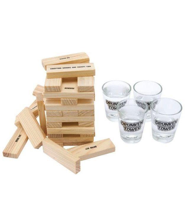 Drunken Tower Drinking Game She S Crafty Pinterest Juegos Para