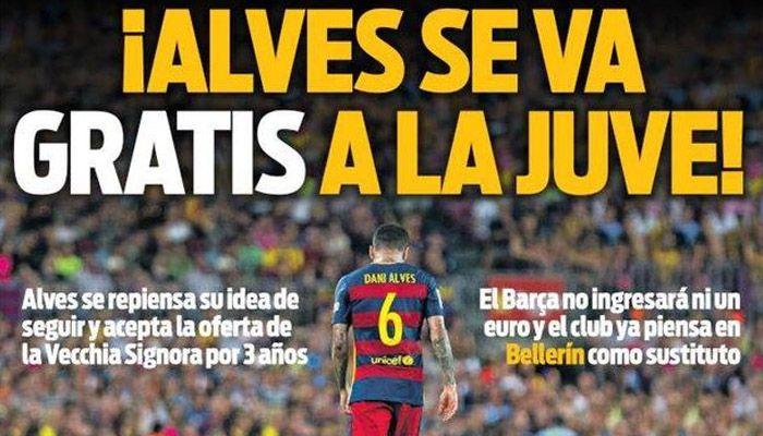 Rassegna stampa estera: Alves gratis alla Juventus - http://www.maidirecalcio.com/2016/05/26/rassegna-stampa-alves-juventus.html