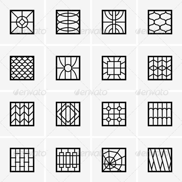 Decorative security window grill diy yahoo search for Modern zen window grills design