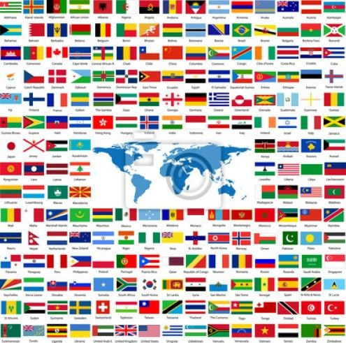 Flags From Around The World Flags Of The World Country Flags Images World Wallpaper